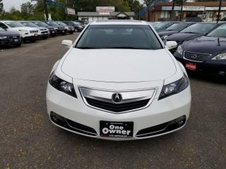 Used 2013 Acura TL LEATHER,SUNROOF,NO ACCIDENTS, 1 OWNER,ONTARIO CAR for sale in Brampton, ON