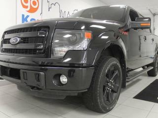Used 2013 Ford F-150 FX4 3.5L V6 loaded. NAV, sunroof, heated/cooled power leather seats, everything you could ever want for sale in Edmonton, AB