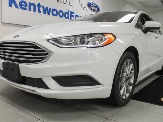 Used 2017 Ford Fusion SE, sunroof, powered seats, back up cam and keyless entry for sale in Edmonton, AB