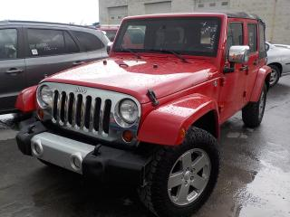 Used 2010 Jeep WRANGLERUNLIMITED for sale in Innisfil, ON