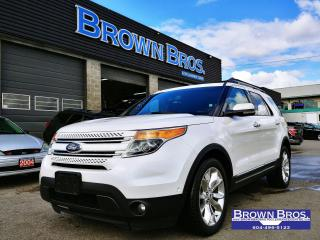 Used 2012 Ford Explorer LIMITED, Navigation, moonroof, leather for sale in Surrey, BC