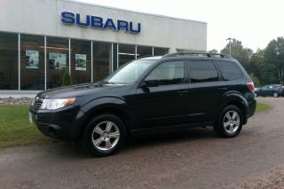 Used 2010 Subaru Forester CONVENIENCE PKG for sale in Minden, ON