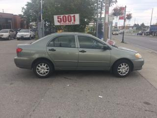 Used 2004 Toyota Corolla AUTO,SHIPPER'S SPECIAL,$2388,297KM for sale in North York, ON