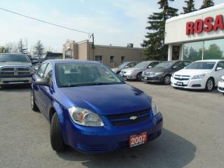 Used 2007 Chevrolet Cobalt AUTO 4 DR SAFETY AUX LOCAL ONTARIO NO RUST for sale in Oakville, ON