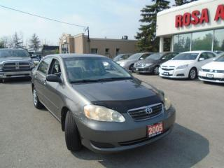 Used 2005 Toyota Corolla AUTO 4 DR REMOTE START  SAFETY NO RUST for sale in Oakville, ON