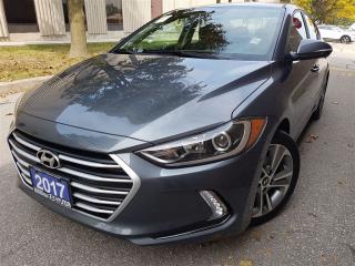 Used 2017 Hyundai Elantra GLS-Blind spot-Push start-Sunroof for sale in Mississauga, ON