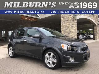 Used 2014 Chevrolet Sonic LT for sale in Guelph, ON