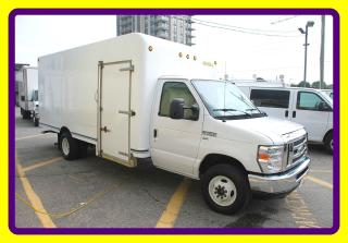 Used 2013 Ford E-450 16 ft BOX LOW PROFILE, SIDE DOOR for sale in Woodbridge, ON