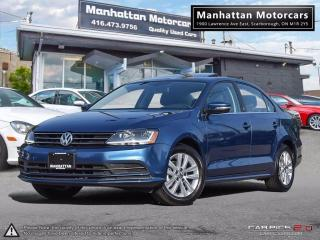 Used 2017 Volkswagen Jetta 1.4T WOLFSBURG |ROOF|ALLOY|WARRANTY|PHONE for sale in Scarborough, ON