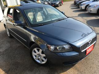 Used 2007 Volvo V50 AUTO/LEATHER/SUNROOF/ALLOYS/HEATED SEATS for sale in Scarborough, ON