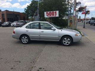 Used 2006 Nissan Sentra AUTO,EXTRA CLEAN,SAFETY+3YEARS WARRANTY INCLUDED for sale in North York, ON