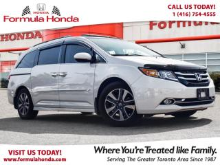 Used 2017 Honda Odyssey TOURING | TOP OF LINE | NAVIGATION for sale in Scarborough, ON