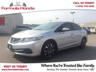 Used 2015 Honda Civic Sedan EX | HEATED SEATS | SUNROOF for sale in Scarborough, ON