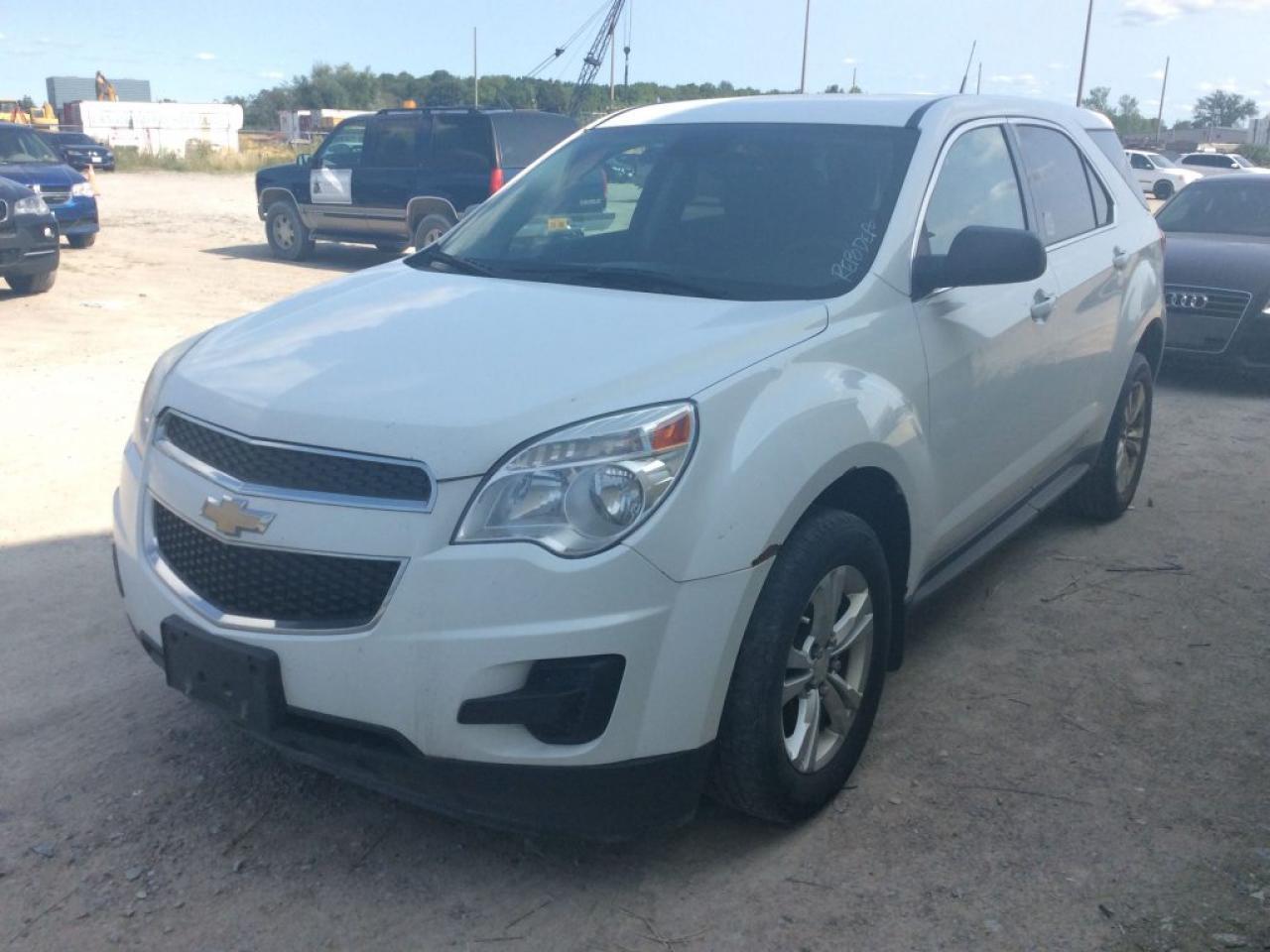 Photo of White 2012 Chevrolet Equinox