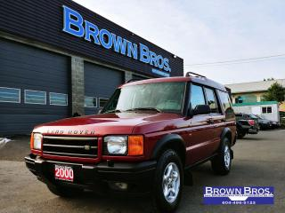 Used 2000 Land Rover Discovery II w/Cloth for sale in Surrey, BC