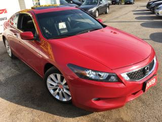 Used 2009 Honda Accord EX-L/AUTO/LEATHER/SUNROOF/ALLOYS/HEATED SEATS for sale in Scarborough, ON