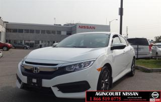 Used 2017 Honda Civic LX |No Accidents|Non Rental|Camera| for sale in Scarborough, ON