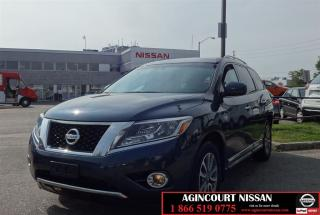 Used 2013 Nissan Pathfinder SL 4x4|Sunroof|Camera|Low Ks| for sale in Scarborough, ON