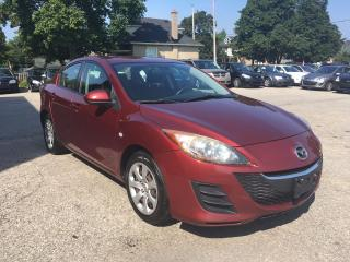 Used 2010 Mazda MAZDA3 ONE OWNER- SAFETY & WARRANTY INCLUDED for sale in Cambridge, ON