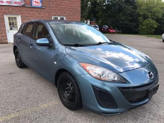 Used 2010 Mazda MAZDA3 GX - NO ACCIDENT - SAFETY & WARRANTY INCLUDED for sale in Cambridge, ON