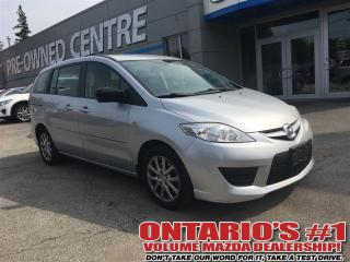 Used 2009 Mazda MAZDA5 CONVENIENCE PKG / ALLOYS / LOW KMS!!! for sale in North York, ON
