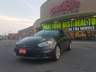 Used 2014 Dodge Dart Limited LEATHER NAVI P-ROOF 2.4L R-MOTE START for sale in Scarborough, ON