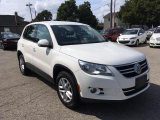 Used 2009 Volkswagen Tiguan ONE OWNER- SAFETY & WARRANTY INCLUDED for sale in Cambridge, ON