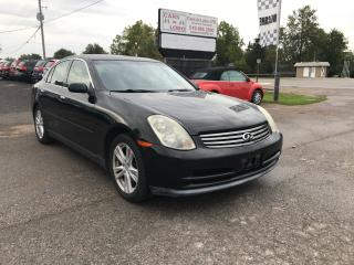 Used 2003 Infiniti G35 Luxury for sale in Komoka, ON