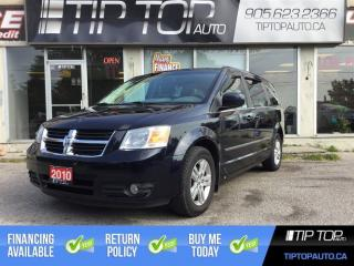Used 2010 Dodge Grand Caravan SXT ** Dual DVD, Leather, Backup Cam, Remote Start for sale in Bowmanville, ON