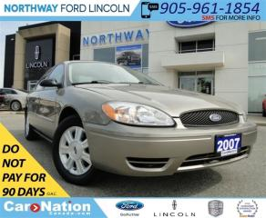 Used 2007 Ford Taurus SEL | LOW KM | 6 DISC CHANGER | SUN ROOF | for sale in Brantford, ON