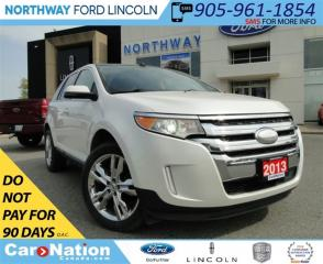 Used 2013 Ford Edge Limited | NAV | PANO ROOF | LEATHER | REAR CAM | for sale in Brantford, ON
