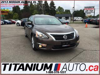 Used 2013 Nissan Altima 2.5 SL+Camera+Sunroof+Heated Leather+Bose Sound+++ for sale in London, ON