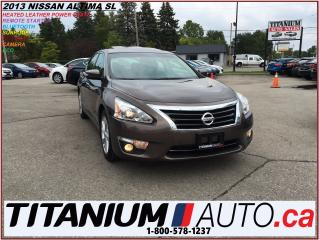 Used 2013 Nissan Altima 2.5 SL+Camera+Sunroof+Leather+Blind Spot Monitor++ for sale in London, ON