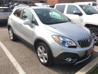 Used 2015 Buick Encore Leather. All Wheel Drive. Remote Start. for sale in Woodbridge, ON