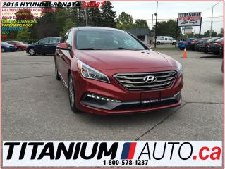 Used 2015 Hyundai Sonata Sport+Pano Roof+Camera+Leather+Blind Spot Monitor+ for sale in London, ON