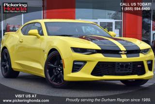 Used 2016 Chevrolet Camaro 2SS | LEATHER | REMOTE START | SUNROOF for sale in Pickering, ON