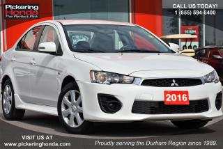 Used 2016 Mitsubishi Lancer ES | HEATED SEATS | BLUETOOTH for sale in Pickering, ON