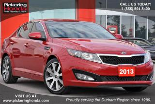 Used 2013 Kia Optima EX | LEATHER | SUNROOF | REAR CAMERA for sale in Pickering, ON