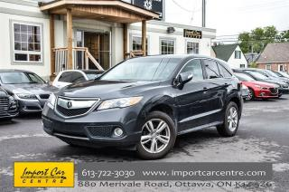 Used 2015 Acura RDX AWD LEATHER, SUNROOF, BK. CAMERA for sale in Ottawa, ON