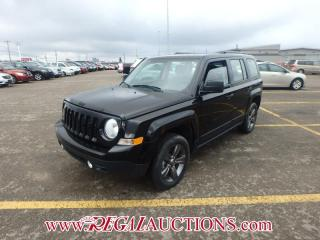 Used 2015 Jeep PATRIOT SPORT 4D UTILITY 4WD 2.4L for sale in Calgary, AB