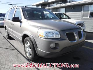 Used 2006 Pontiac Montana SV6 4D Wagon for sale in Calgary, AB