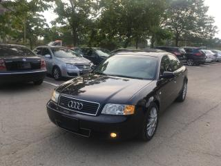 Used 2002 Audi A6 2.7T Quattro for sale in Toronto, ON