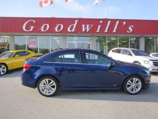 Used 2014 Chevrolet Cruze 6-SPEED! CLEAN CARPROOF! for sale in Aylmer, ON