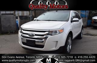 Used 2013 Ford Edge Limited w.nav sunroof & more for sale in Etobicoke, ON