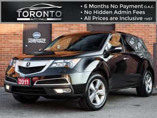 Used 2011 Acura MDX Technology Package+Navi+camera+DVD Entertainment for sale in North York, ON