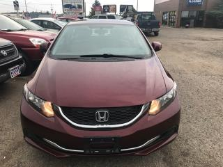 Used 2013 Honda Civic Sdn LX for sale in Kitchener, ON