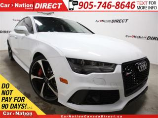 Used 2016 Audi RS 7 4.0 TFSI quattro| $20,000 IN OPTIONS| 1 OWNER| for sale in Burlington, ON