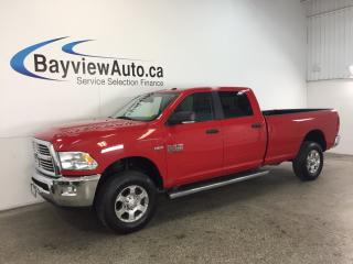Used 2016 Dodge Ram 2500 SLT- 4x4! HEMI! TOW/HAUL! CREW/LONG! BLUETOOTH! for sale in Belleville, ON