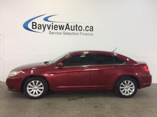 Used 2013 Chrysler 200 TOURING- 3.6L! TINT! HEATED SEATS! NAV! UCONNECT! for sale in Belleville, ON