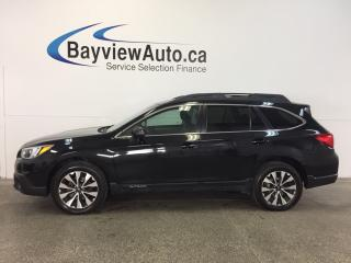 Used 2015 Subaru Outback - AWD! ROOF! HTD LTHR! NAV BSA! PWR TRUNK! for sale in Belleville, ON